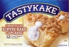 Tastykake Cream Filled Koffee Kake Cupcakes - Three Family Packs by Tastykake