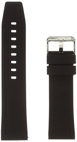 hadley-roma-ms3371ra-240-black-silicone-watch-band