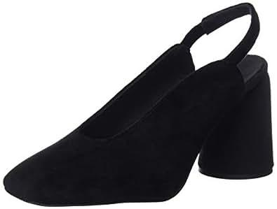 Castañer Karme/Fw18004, Zapatos de tacón con Punta Cerrada para Mujer, (Negro 100), 37 EU