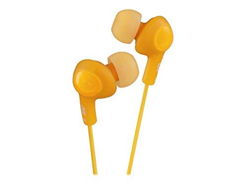 JVC HAFX5D Gumy Plus Inner Ear Headphones (Orange) (Jvc Ipod Cord)