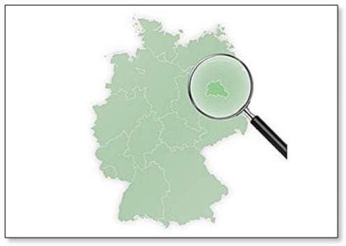 Amazon Com Landkarte Deutschland Berlin Vergraÿert Classic