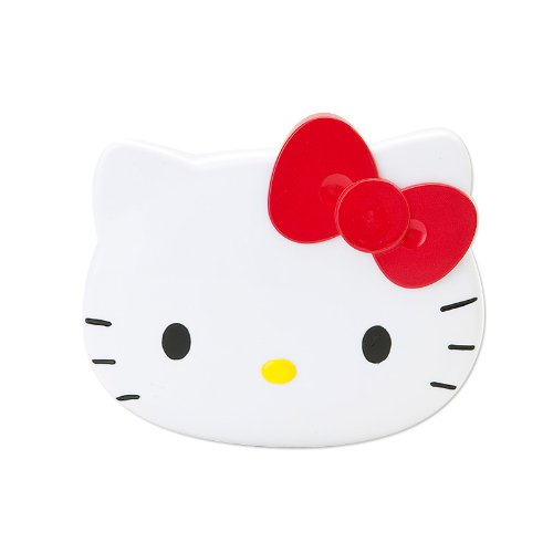 Hello Kitty Face Form Mirror & Comb (Japan Import) by Sanrio from SANRIO