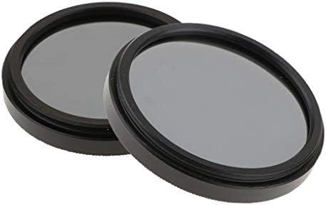 ND4 減光フィルター 2枚セット 37mm + 40.5mm Canon Nikon DSLRカメラ 互換性