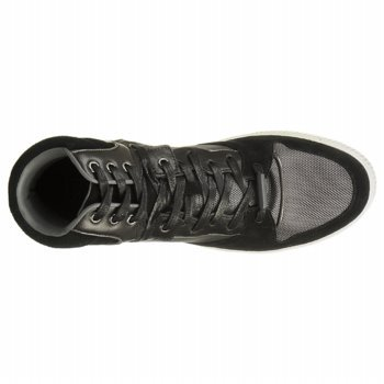 Kenneth Cole Reaction Hombre Salta Las Vallas Sneakers Black
