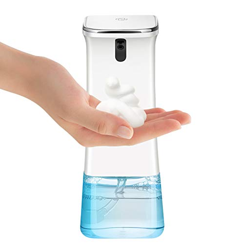 Baban Touchless Soap Dispenser, Automatic Foaming Soap Dispenser Soap Pump, Infrared Induction Non-Contact Sprayer…
