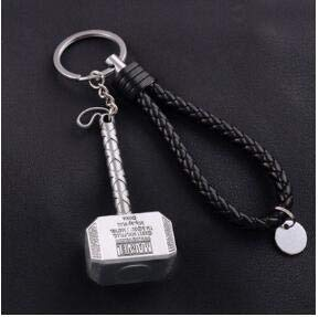 PAPEO Keychain 2-2.5 inch Hot Zinc Action Figure Small Figures Toys Mini Model Keyring Pendant Gifts Christmas Halloween Birthday Gift Movie Collectible for Kids -