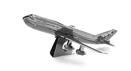 Fascinations Metal Earth Boeing 747 Airplane 3D Metal Model Kit (747 Boeing Airplane)