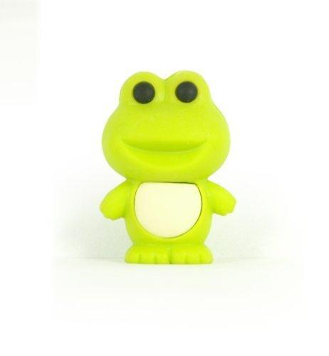 cute green frog eraser from Japan by Iwako by Iwako ()