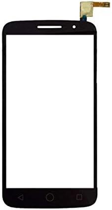 携帯電話の液晶画面 アルカテルワンタッチポップするタッチパネル7044分の2(ブラック) (Color : Black)