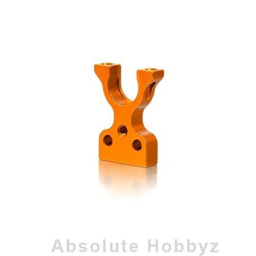 XRAY T4 Aluminum Layshaft Bulkhead Closed L/R - Orange (Lr Bulkhead)