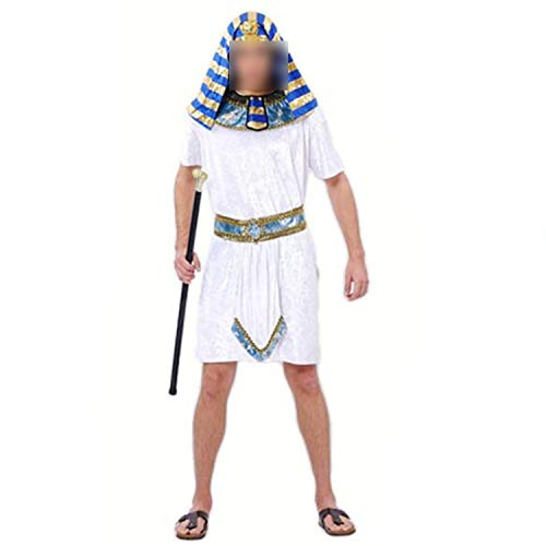 Halloween CMasquerade Party Cute Exotic Prince Party,Egyptian Princess Th,One Size1]()