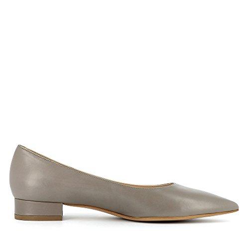 gris Evita Zapatos Shoes Piel de de mujer vestir para Franca zqBRxza1