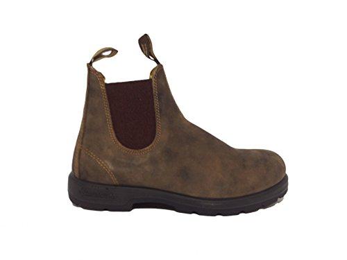 Blundstone B005855015 Stivali Unisex rustic brown grigio