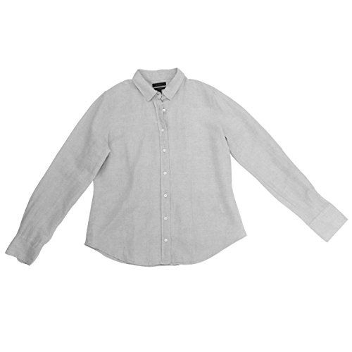 Used, J. Crew Perfect Shirt Cotton Linen (12, Flax) for sale  Delivered anywhere in USA
