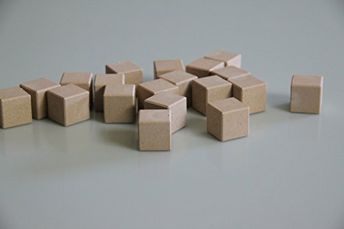 Sieboldt 080550000 Commercial Agency Cube Natural in Cotton Bag 150 Pieces