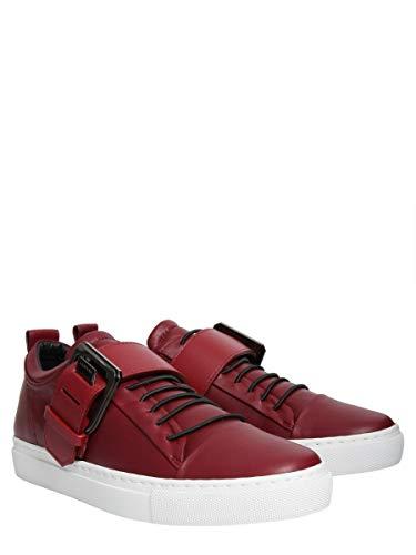 Pelle Lanvin Sneakers Fwskpk01napaa18391 Rosso Donna 1z1f6nt