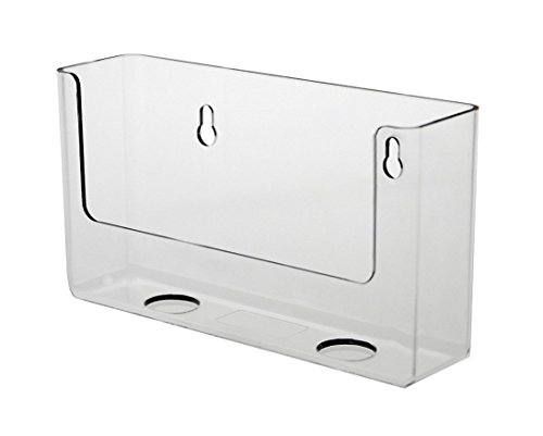 - Source One Premium Clear Counter Top Postcard Holder Display Fixture 6 Inch (S1-PostCard-6Inch)