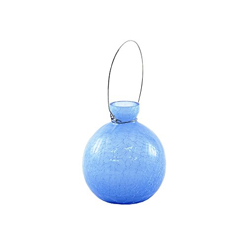 (Achla Designs SV-03BLL Hanging Glass Flower Planter/Rooting Vase, Blue Lapis)