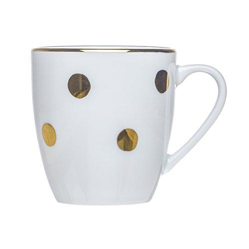 PRINCESS on a Pea 6-Piece TEA/COFFEE Mugs Set,