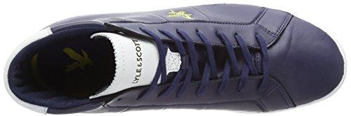 Navy dark Scott Lyle Collo Uomo white Alto Sneaker Z424 Blu A Gemmill amp; qRgwxqnvAT