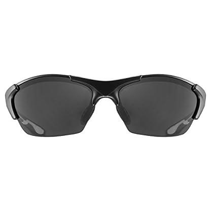 Uvex Unisex Blaze III Sportbrille, One Size, black mat 2