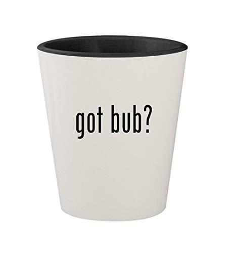 got bub? - Ceramic White Outer & Black Inner 1.5oz Shot Glass