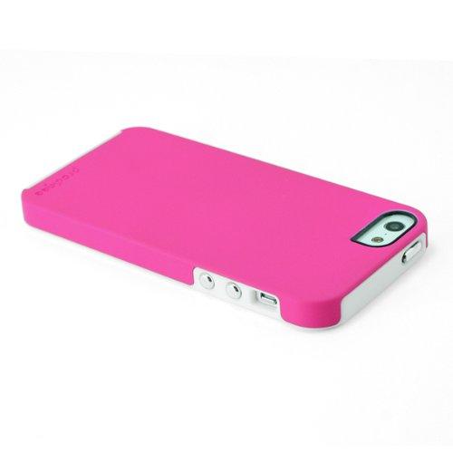 Prodigee Sneaker Pink Rosa / white Weib iPhone 5 5s SE Schutz dünn Hülle Stück dünner dünn Schalen phone case