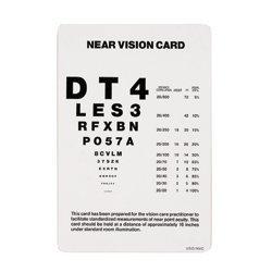 Near Vision Test Card: Near Visual Acuity Chart: Amazon com