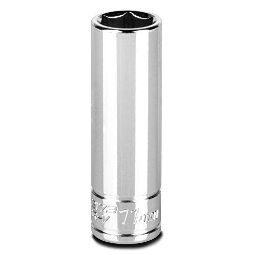 Capri Tools 11 mm Deep Socket, 1/4-Inch Drive, 6-Point, Metric