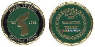 Korean Veteran Challenge Coin