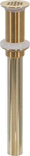 Polished Brass Lavatory Drain - 1-1/4
