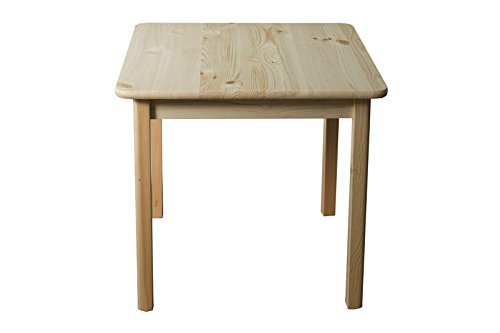 Tisch massiv 002 - Abmessung 75 x 60 x 60 cm (H x B x T)