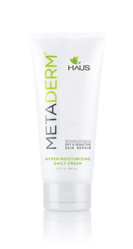 MetaDerm HyperMoisturizing Cream Proven to Naturally Heal Dry Itchy Inflamed Skin, Prevent Future Flares, and Provide Soothing Moisturizing Relief (6.5 oz.)