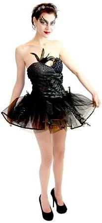 TV Store Negra Cisne Ballet Leotard y Tutu Ballerina Disfraz ...