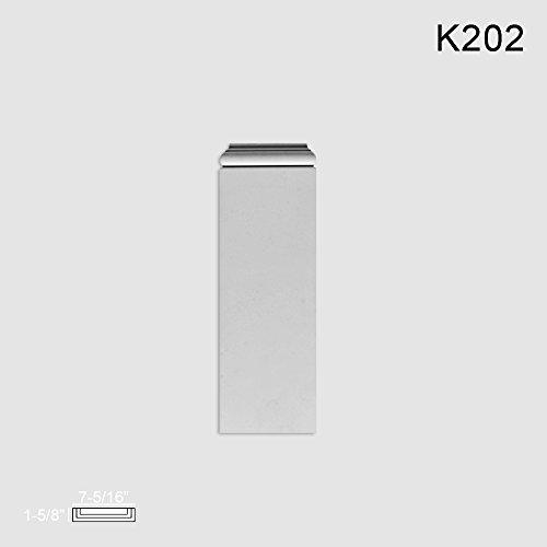 Orac Decor Plinth Block for K200 K202 Plinth Block for K200, Primed White. Width: 7-5/16
