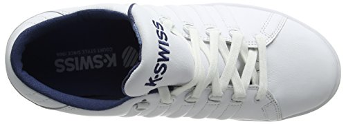 Sneaker K-swiss Mens Lozan Iii Tt, Bianco, 45,5 Eu Bianco (bianco / Blu / Camo)