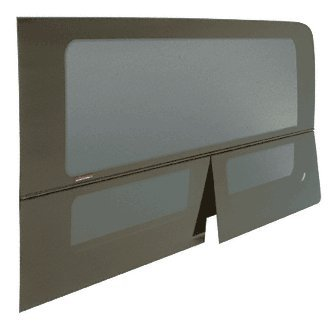 CRL 2007+ All Glass Look Sprinter Van T-Vent Driver Side Rear Quarter Panel Window for 144