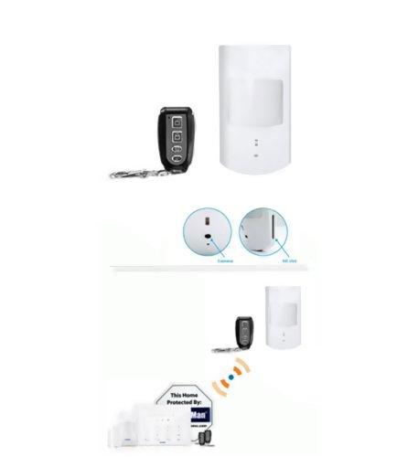 Security Man Pir Motion Sensor Hidden Camera/Sd Slot