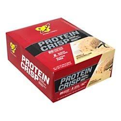 BSN Finish First Protein Crisp Protein Bars, Vanilla Marshmallow, 1.97 Oz, Box Of 12 Bars ()