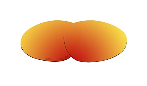 Polarized Lenses Replacement for Oakley Warden Sunglasses Fire Red Mirror - Sunglasses Warden
