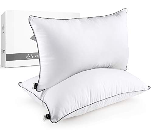 HOKEKI Bed Pillows for Sleeping, King Size (20X36) Set of 2 with Luxury Hotel Collection Quality, Down Alternative Gel…