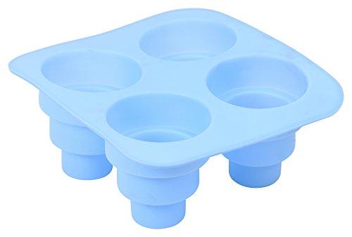 Aroma Bakeware Multi-Tier 4 Cavity Silicone Dessert Mold