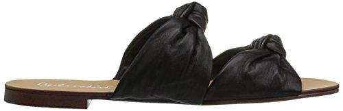 Women's Black Flat Sandal Splendid Barton U6qdwI0w