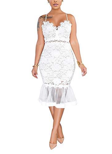 lace paneled bodycon dress - 2