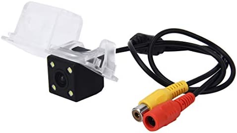 リバースカメラ 2010-2012バージョンGolf6用4つのLEDランプで720×540有効画素NTSC 60HZ CMOS II防水車の背面図のバックアップカメラ