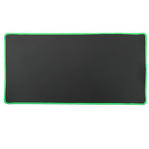 Cmhoo XXL Professional Large Mouse Pad & Computer Game Mouse Mat (35.4x15.7x0.1IN, 90x40 Green)