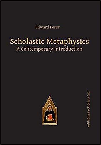 Amazon com: Scholastic Metaphysics: A Contemporary
