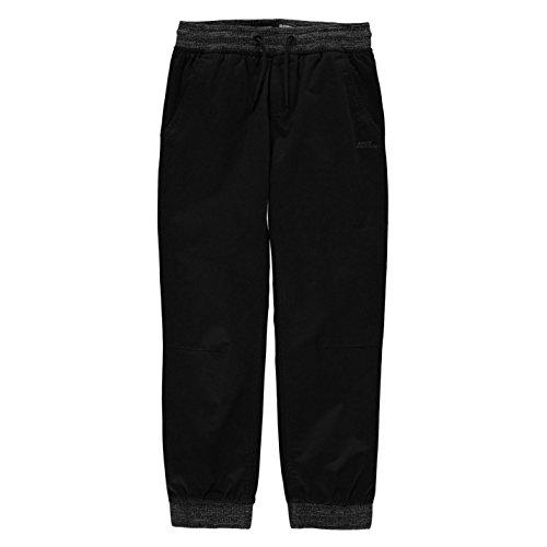 No Fear Sondico Mens SPro Training Bottoms Juniors Pants Solid Black 7/8 (S) (No Fear Combat Pants)
