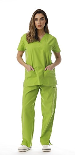 Just Love Women's Scrub Sets 22222V-Lime-XS by Just Love