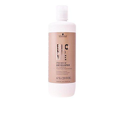 Schwarzkopf Blondme Premium Developer 6% / 20 Volume Hair Color Developer, 33.8 Ounce, 1 L